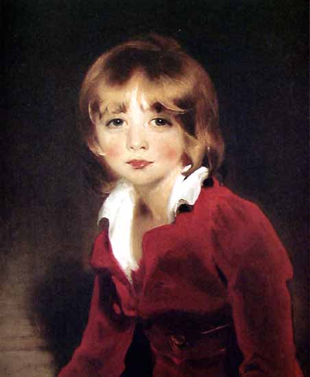 Children sir John Julian | Thomas Lawrence | Oil Painting