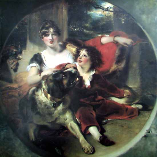 Mrs Maguire and Her Son | Thomas Lawrence | Oil Painting