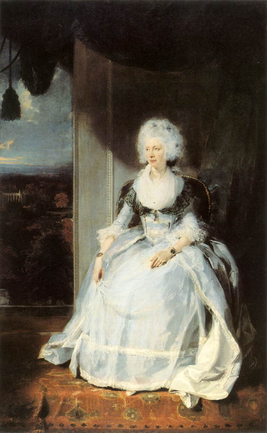 Queen Charlotte | Thomas Lawrence | Oil Painting