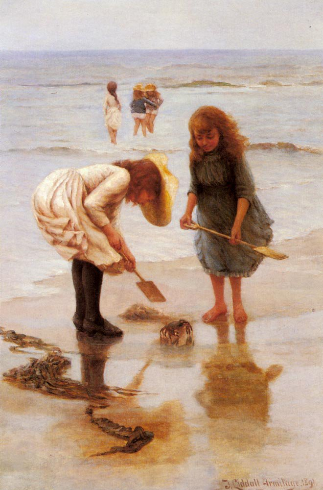 When We Were Young | Thomas Liddall Armitage | Oil Painting
