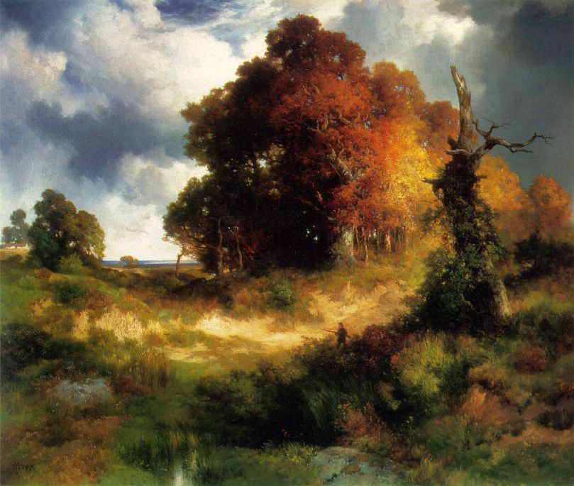 Autumn 1893-97 | Thomas Moran | Oil Painting