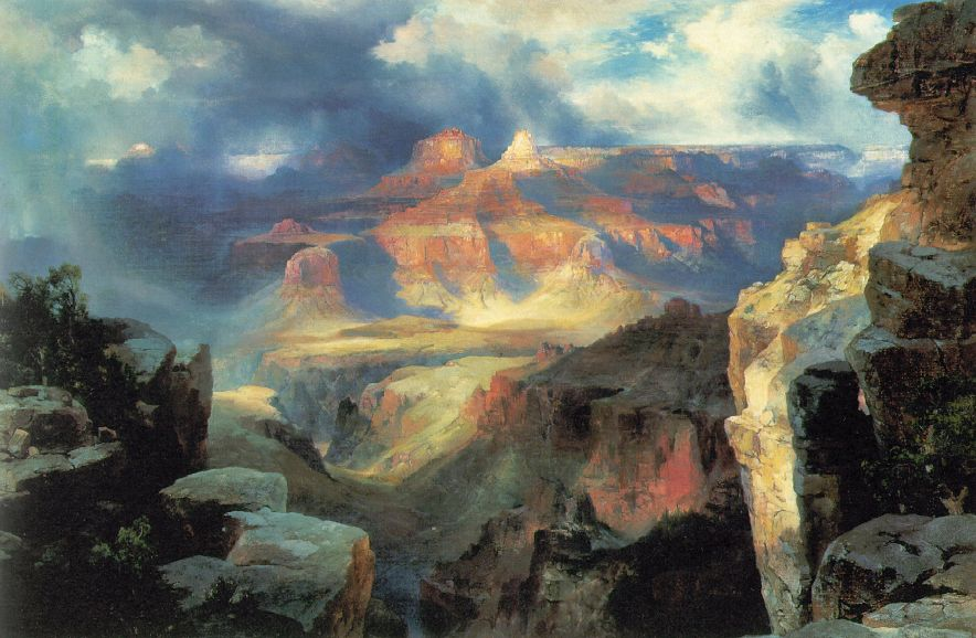A Miracle Of Nature 1913 | Thomas Moran | Oil Painting