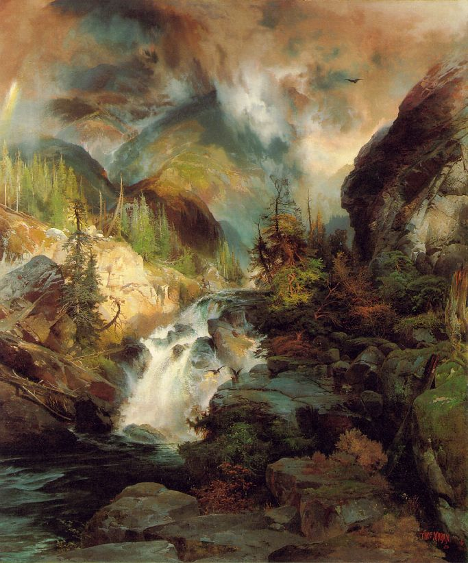 Children Of The Mountain 1867 | Thomas Moran | Oil Painting