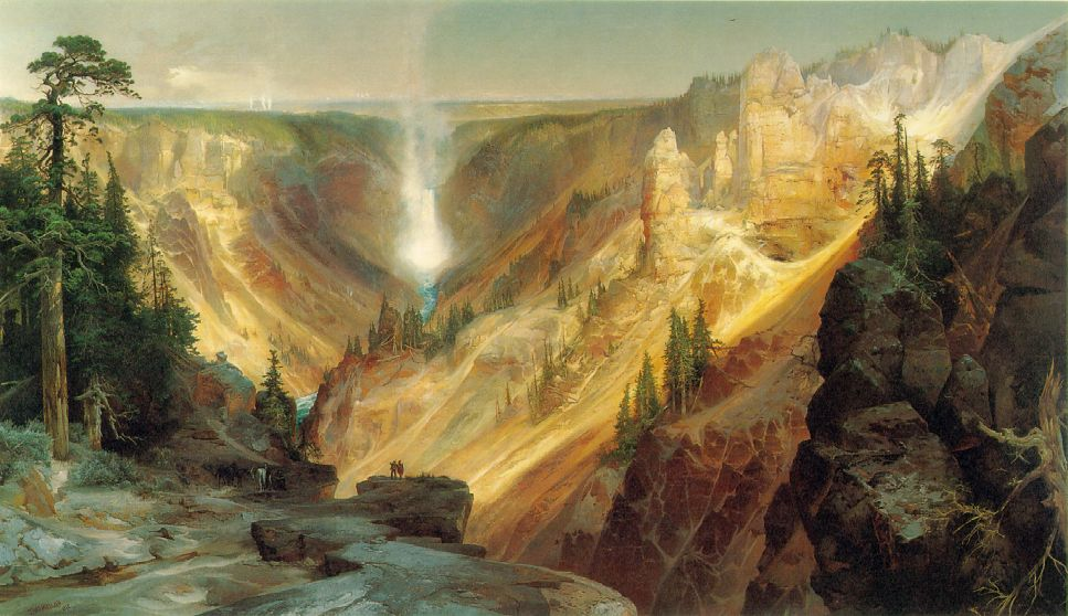 Grand Canyon Of The Yellowstone 1872 | Thomas Moran | Oil Painting