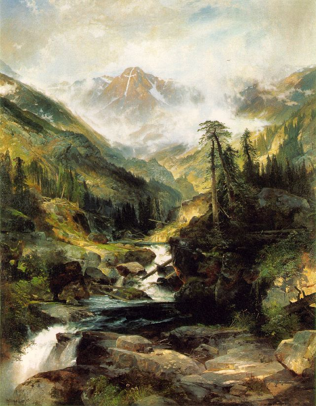 Mountain Of The Holy Cross 1875 | Thomas Moran | Oil Painting