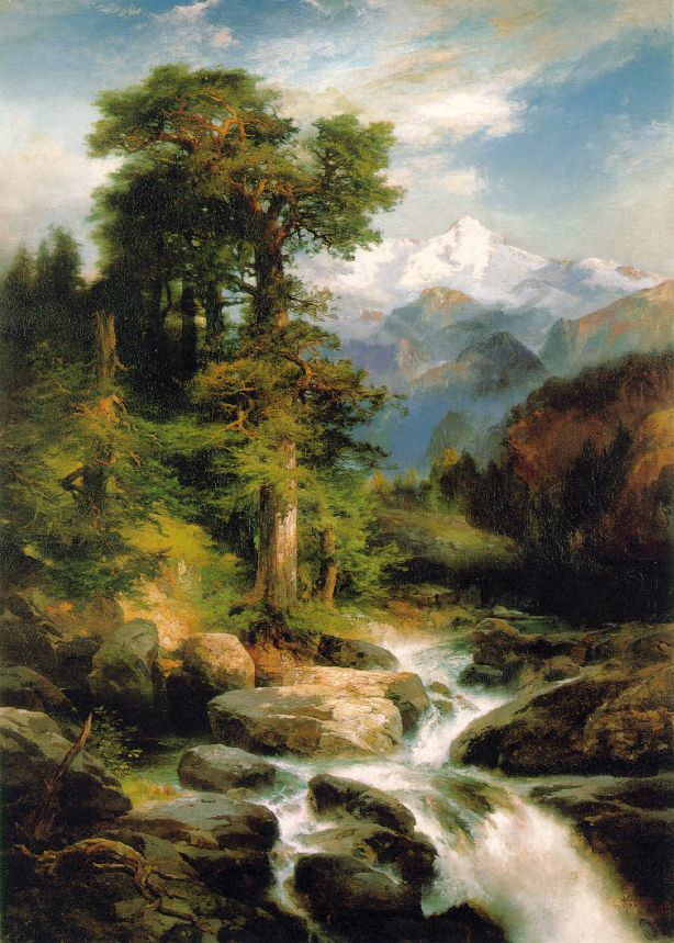 Solitude 1897 | Thomas Moran | Oil Painting
