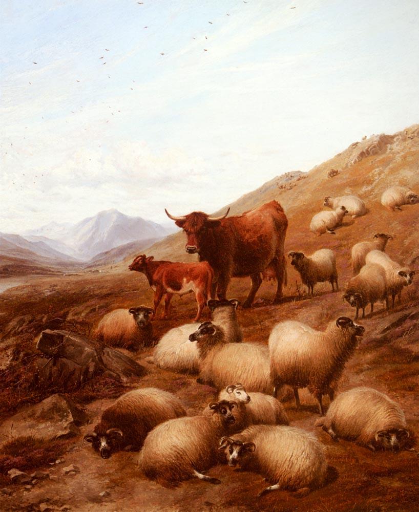 In The Highlands | Thomas Sidney Cooper | Oil Painting