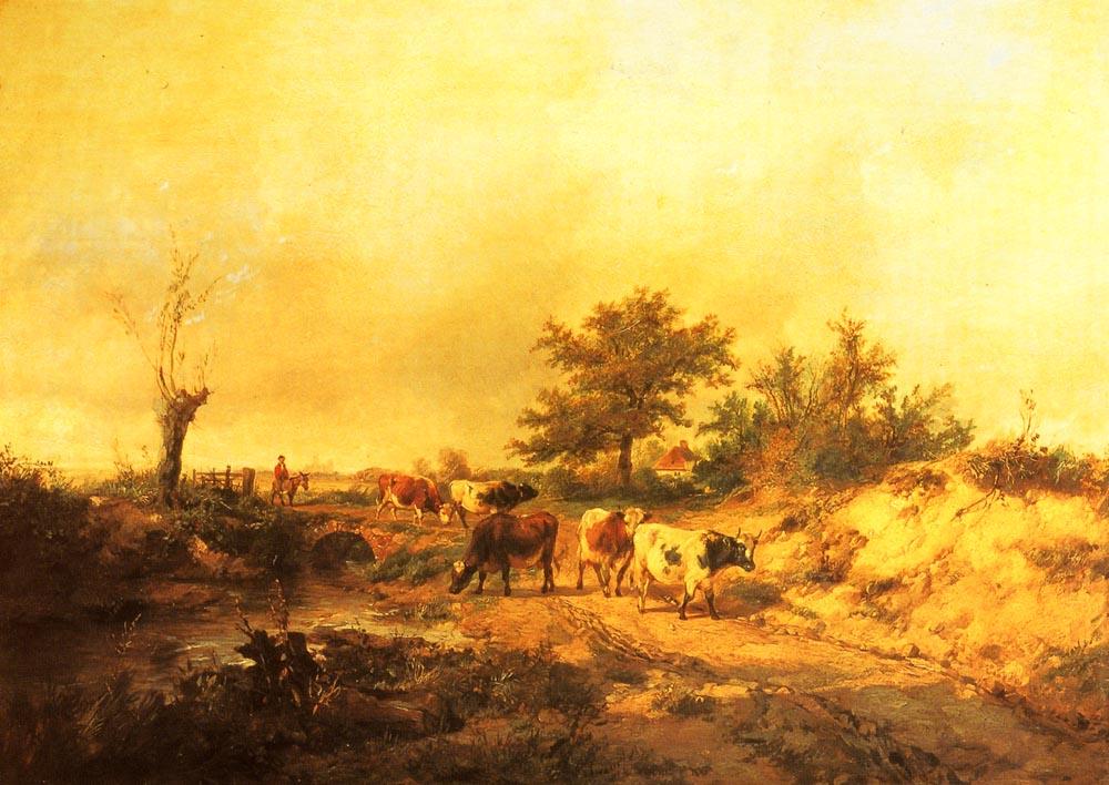 Near Canterbury | Thomas Sidney Cooper | Oil Painting