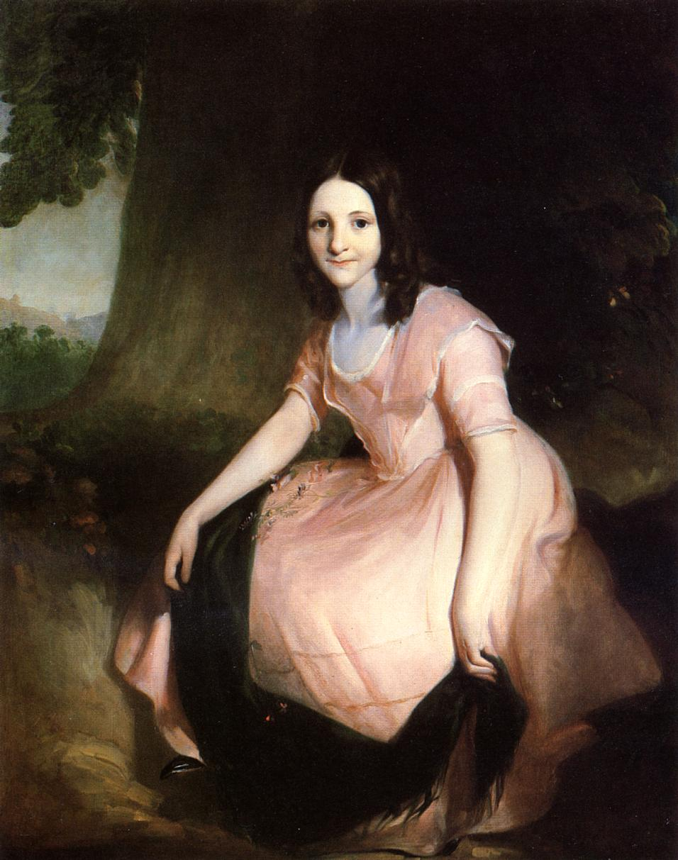 Girl in Pink | Thomas Sully | Oil Painting