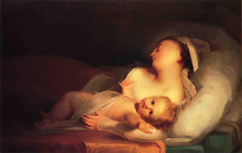 Mother and Child | Thomas Sully | Oil Painting