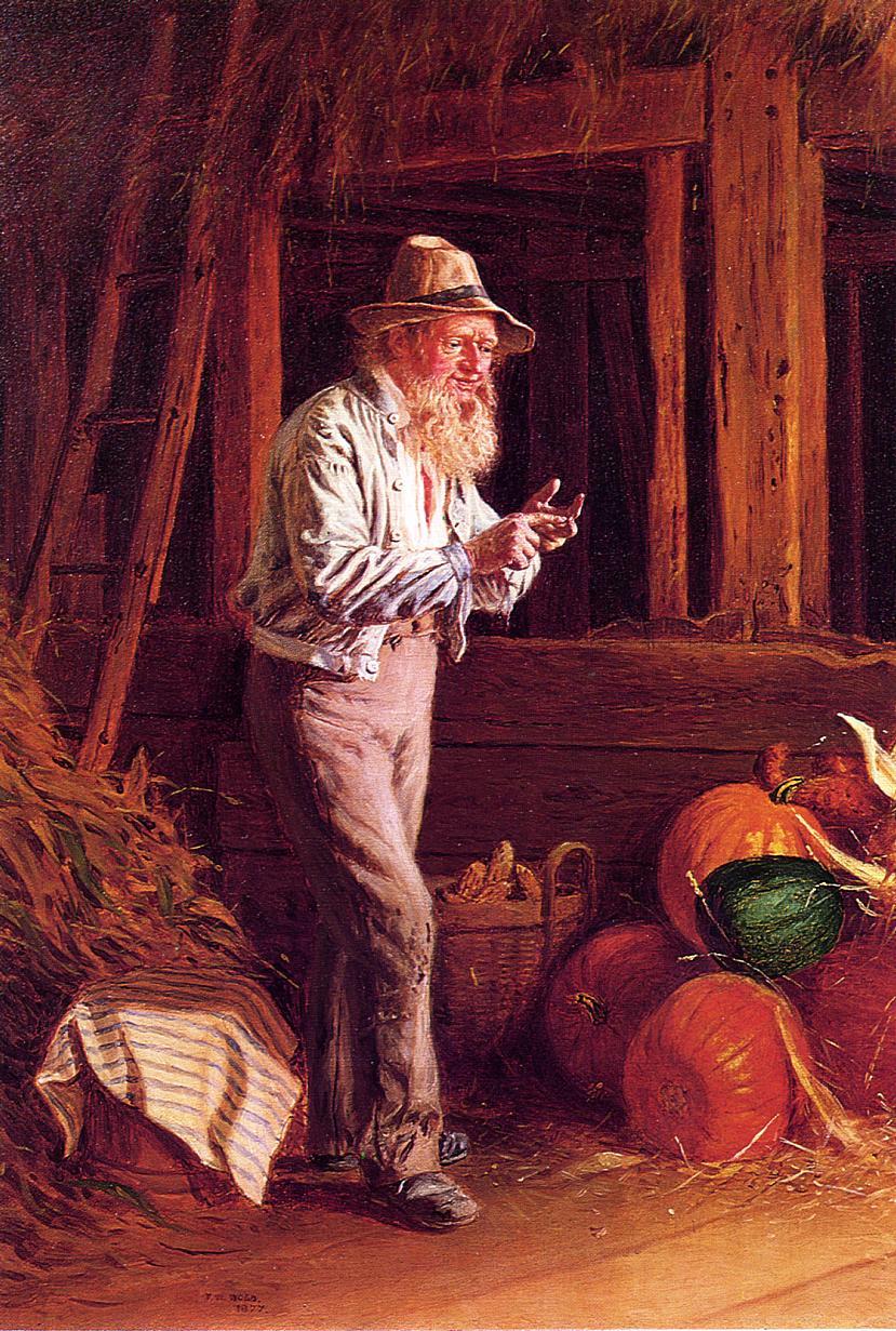 Harvest Time  1877 | Thomas Waterman Wood | Oil Painting