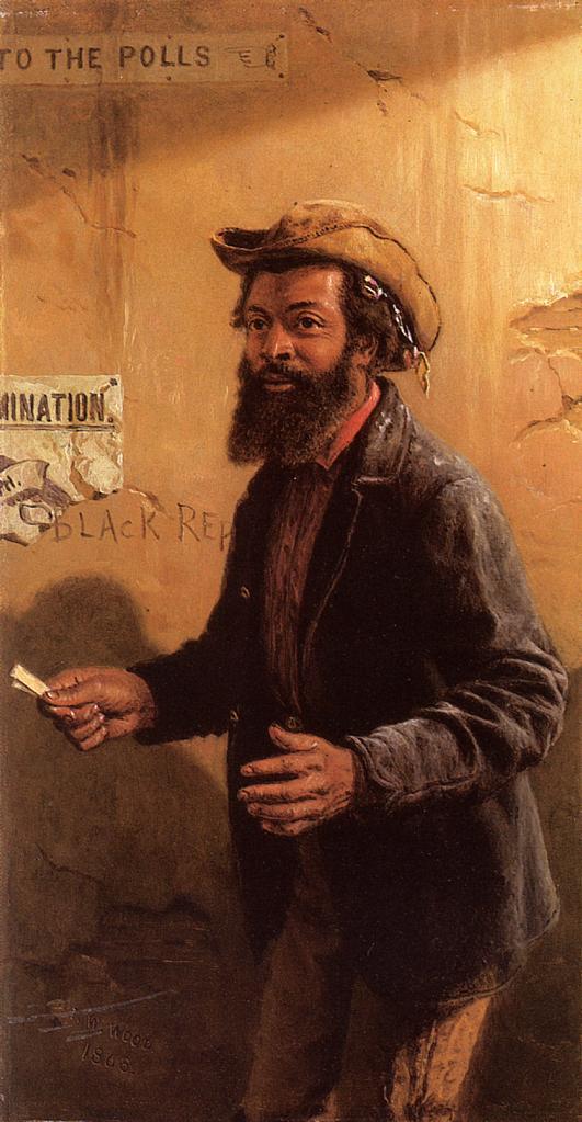 His First Vote  1868 | Thomas Waterman Wood | Oil Painting