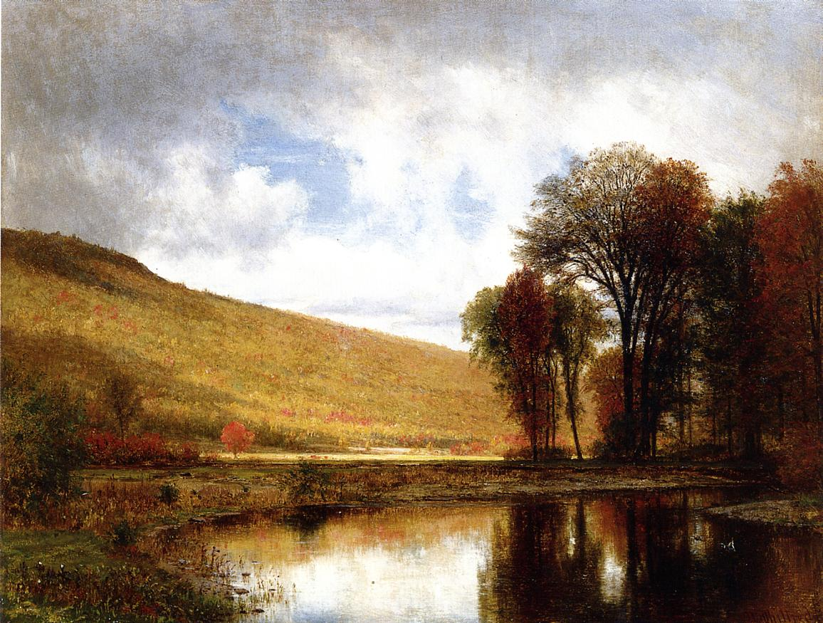 Autumn on the Deleware 1875 | Thomas Worthington Whittredge | Oil Painting