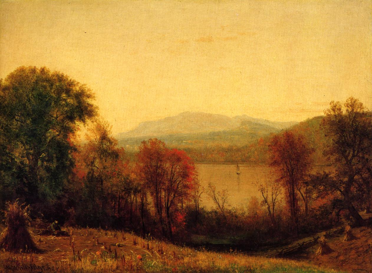 Autumn on the Hudson 1875 | Thomas Worthington Whittredge | Oil Painting