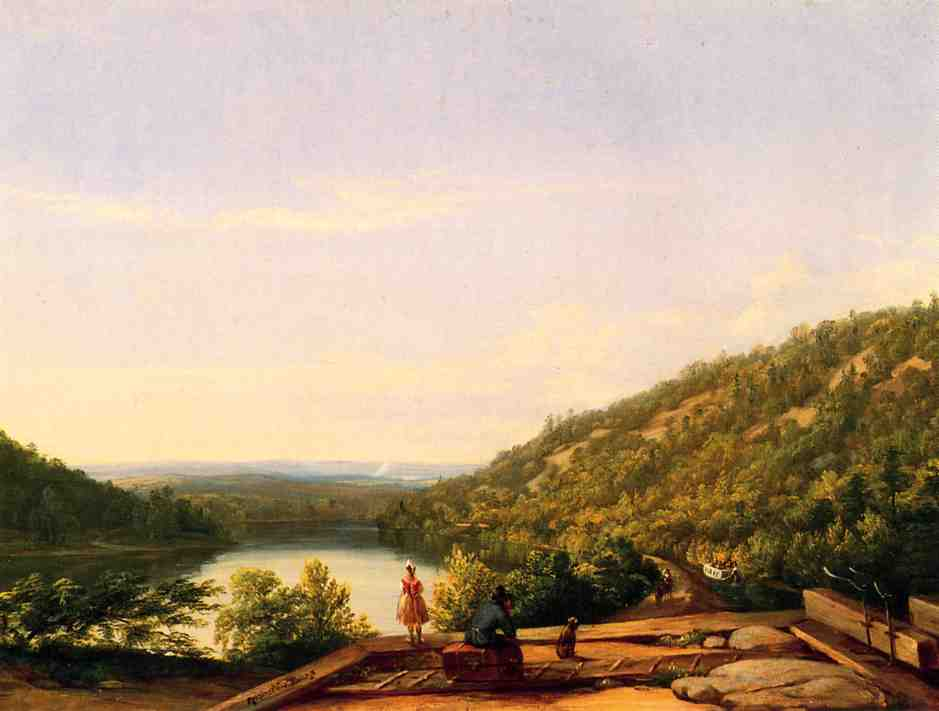 A New Land | Thomas Worthington Whittredge | Oil Painting
