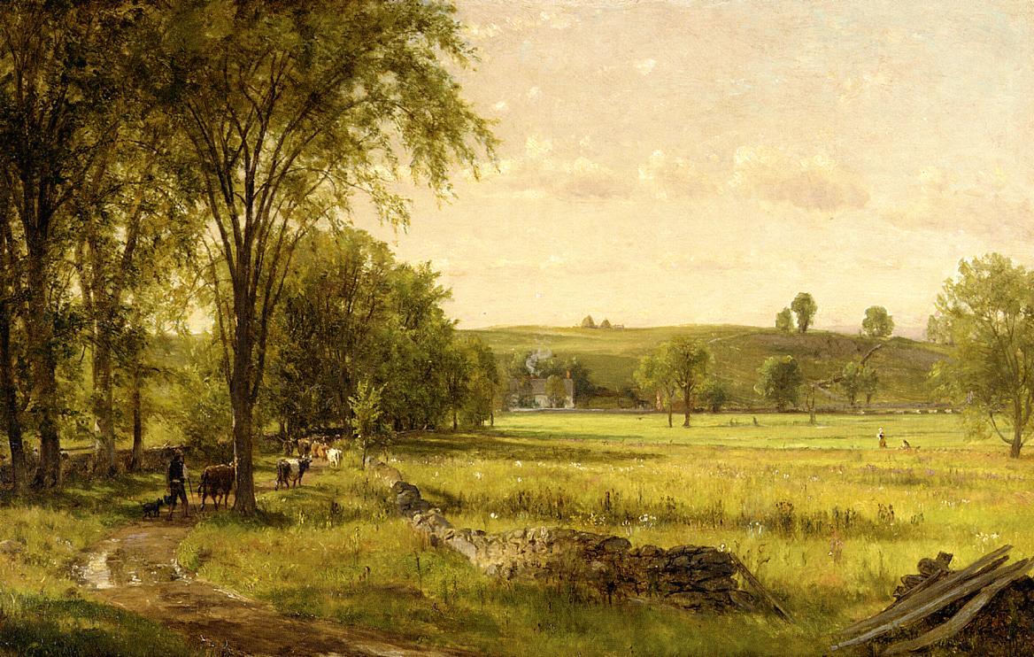 Near Gray Court Junction 1872-1875 | Thomas Worthington Whittredge | Oil Painting