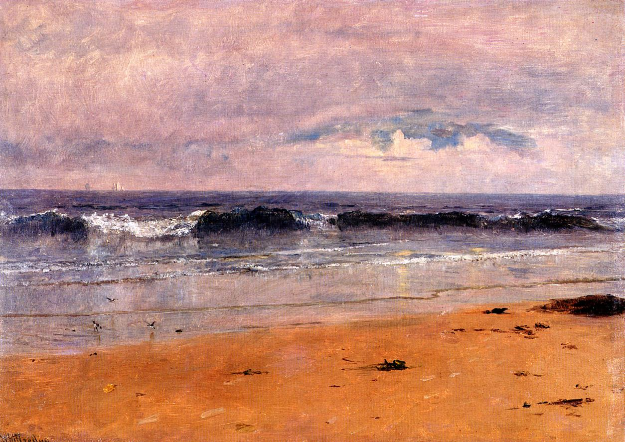 Seascape 1883 | Thomas Worthington Whittredge | Oil Painting
