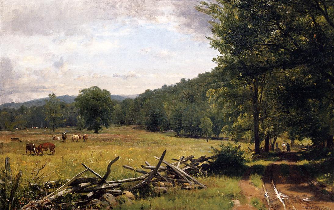The Meadow | Thomas Worthington Whittredge | Oil Painting