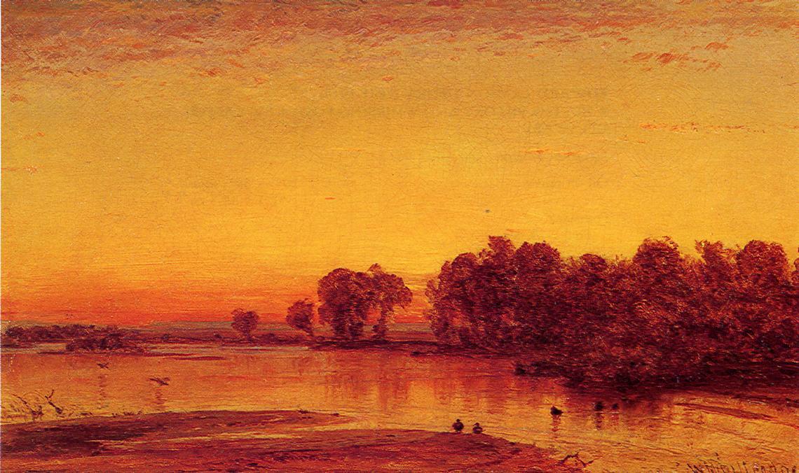 The Platte River | Thomas Worthington Whittredge | Oil Painting