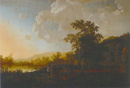 Landscape With Sunset After 1645 | Aelbert Jacobsz Cuyp | Oil Painting