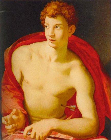 St Sebastian 1525 1528 | Agnolo Bronzino | Oil Painting
