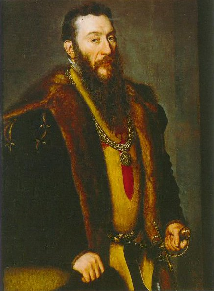 Portrait Of Giovanni Battitsta Di Castaldo 1550 | Anthonis Mor | Oil Painting