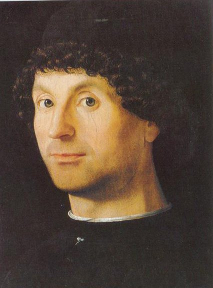 Portrait Of Man 1475 1476 | Antonello Da Messina | Oil Painting
