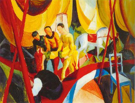 The Circus 1913 | August Macke | Oil Painting