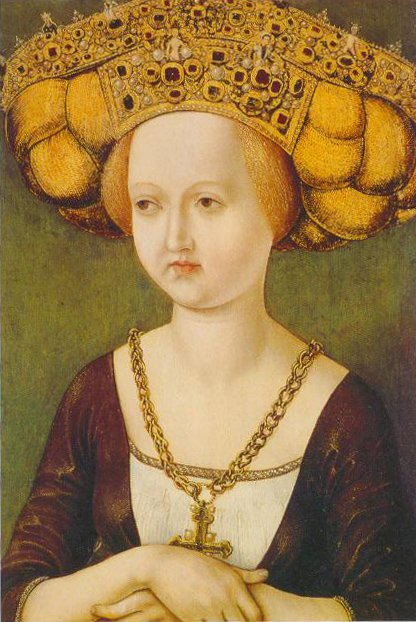 Portrait Of Kunigunde Of Austria 1485 | Austrian Master | Oil Painting
