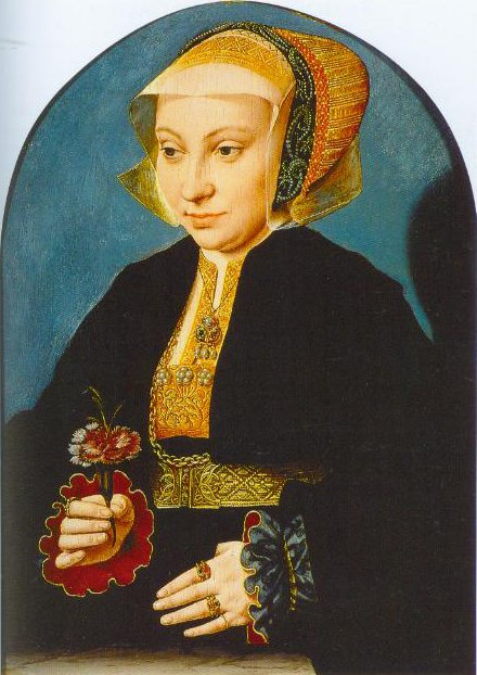 Portrait Of A Woman 1539 | Barthel Bruyn The Elder | Oil Painting