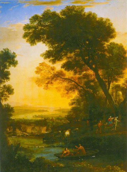 Ideal Landscape With The Flight Into Egypt 1663 | Claude Lorrain | Oil Painting