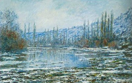 The Thaw At Vetheuil 1881 | Claude Monet | Oil Painting