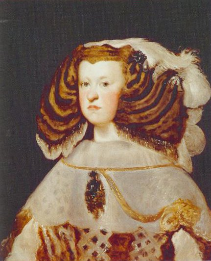 Portrait Of Marianna Of Austria Queen Of Spain 1655 1657 | Diego Velazquez | Oil Painting