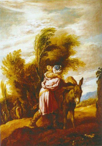 The Good Samaritan 1610 1623 | Domenico Fetti | Oil Painting