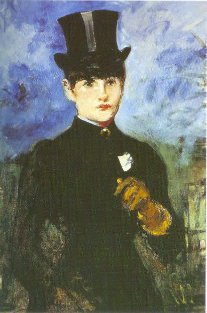 Woman In A Riding Habit Full Face 1882 | Edouard Manet | Oil Painting