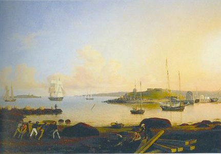 The Island And Font Of Ten Pound Gloucester Massachusetts 1847 | Fitz Hugh Lane | Oil Painting