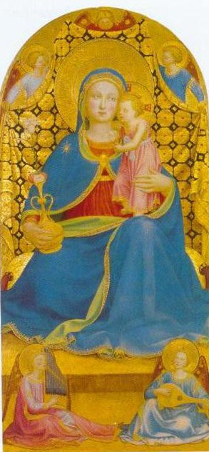 The Virgin Of Humility 1435 | Fra Angelico | Oil Painting