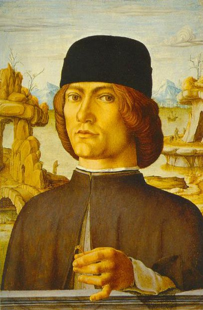 Portait Of Man With A Ring 1472 1477 | Francesco Del Cossa | Oil Painting
