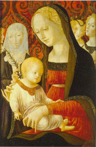 The Virgin And Child With St Carherine And Angels 1490 | Francesco Di Giorgio Martini | Oil Painting