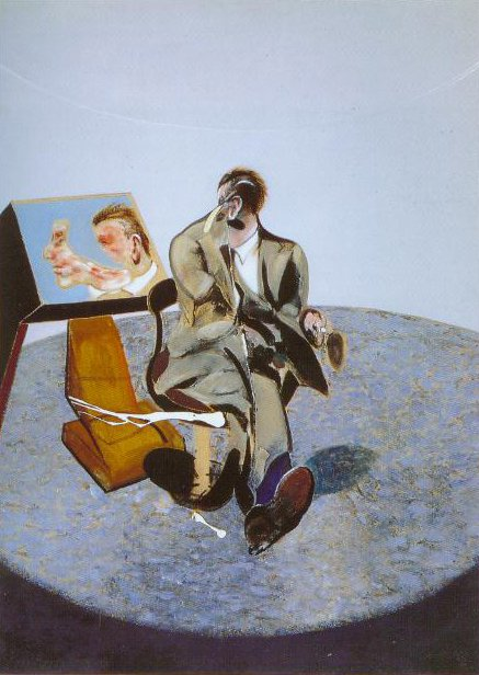 Portrait Of George Dyer In A Mirror 1968 | Francis Bacon | Oil Painting