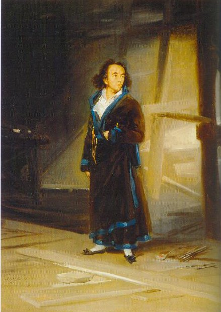 Portrait Of Asensiojulia 1798 | Francisco De Goya | Oil Painting
