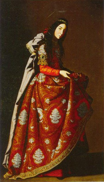 St Casilda 1630 | Francisco De Zurbaran | Oil Painting
