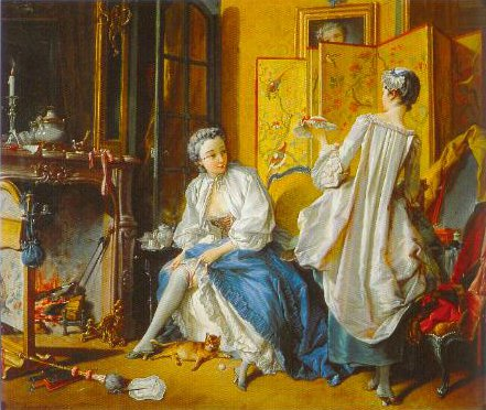 The Toilette 1742   Francois Boucher   Oil Painting
