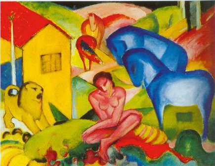 The Dream 1912 | Franz Marc | Oil Painting