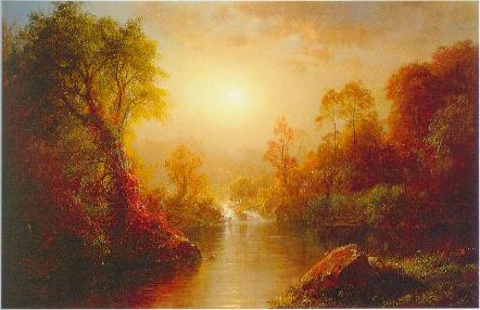 Autumn 1875 | Frederick Edwin Church | Oil Painting