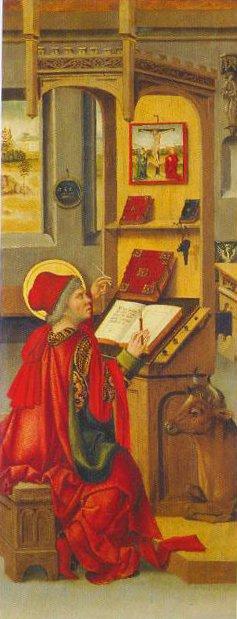 St Luke The Evangelist 1478 | Gabriel Malesskircher | Oil Painting