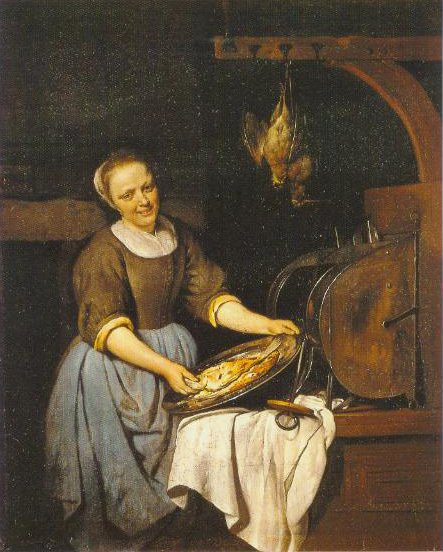 The Cook 1657 1667 | Gabriel Metsu | Oil Painting