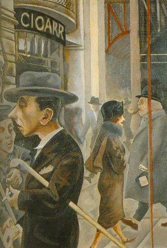 Street Scene 1925 | George Grosz | Oil Painting