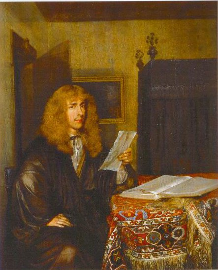 Portrait Of A Man Reading A Document 1675 | Gerard Ter Borch | Oil Painting