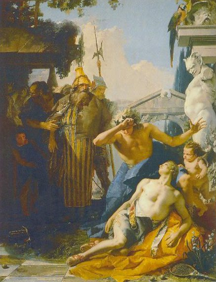 The Death Of Hyacinth 1751 1753 | Giambattista Tiepolo | Oil Painting